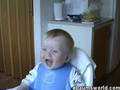 laugh with the baby