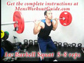 How To Build Muscle in 16 Weeks - Lower Body week 15 to 16