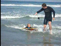 Nathan on Boogie Board