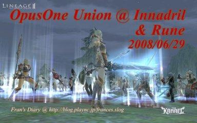 2008/06/29 Innadril & Rune Castle Siege