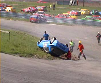 Rallycross A-Final Lyngas Norway