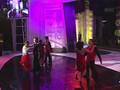 Bi Rain and Hyo Lee dancing tango