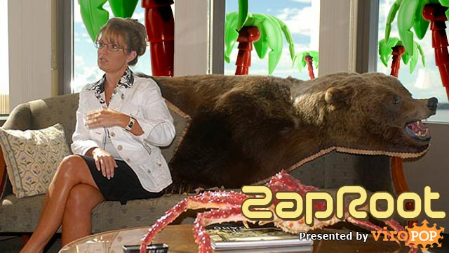 Sarah Palin & Plastic Trees | ZapRoot 056