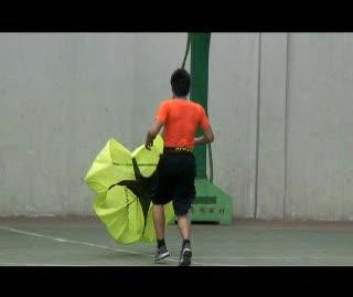 Kobe Bryant Mentu Training - Parachute Sprints