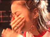 Ueto Aya backstage Never Ever live tour 2007