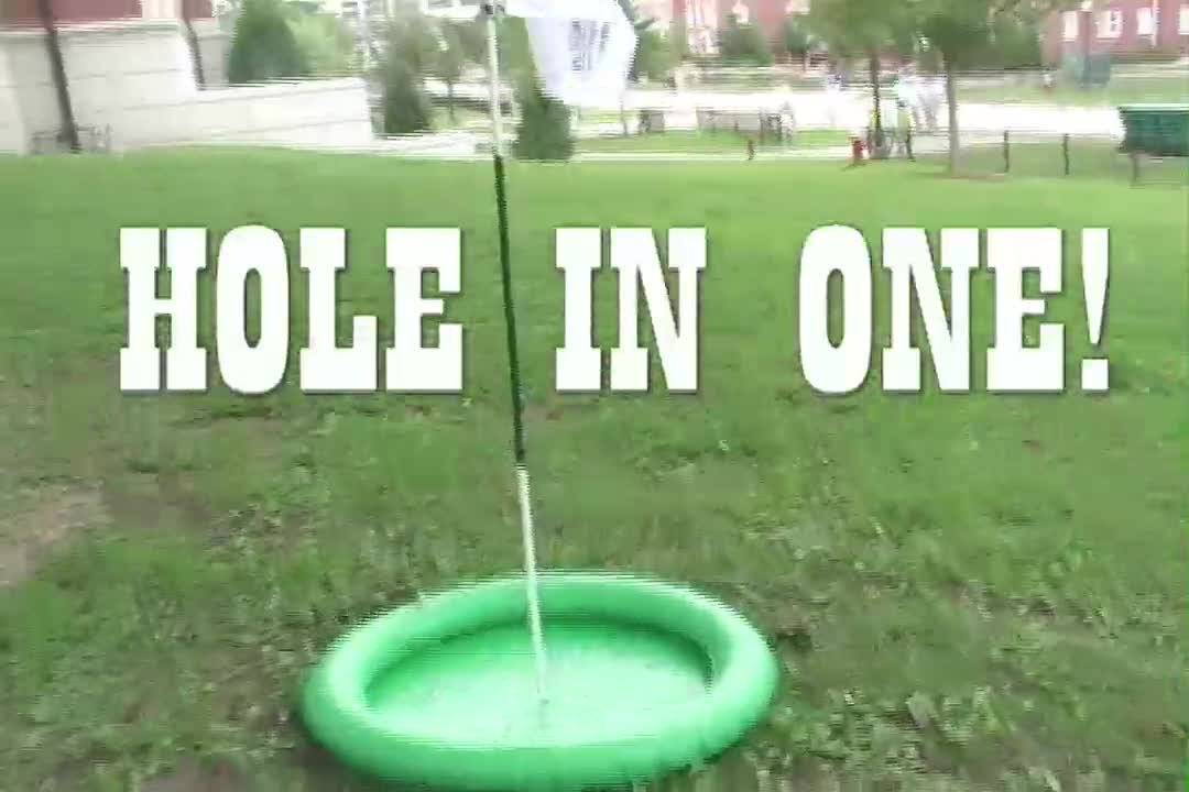 HOW TO PLAY GOLF...OFF A GOLF COURSE: The Auburn almost Open