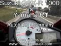 yamaha ri Vs gsx-r1000