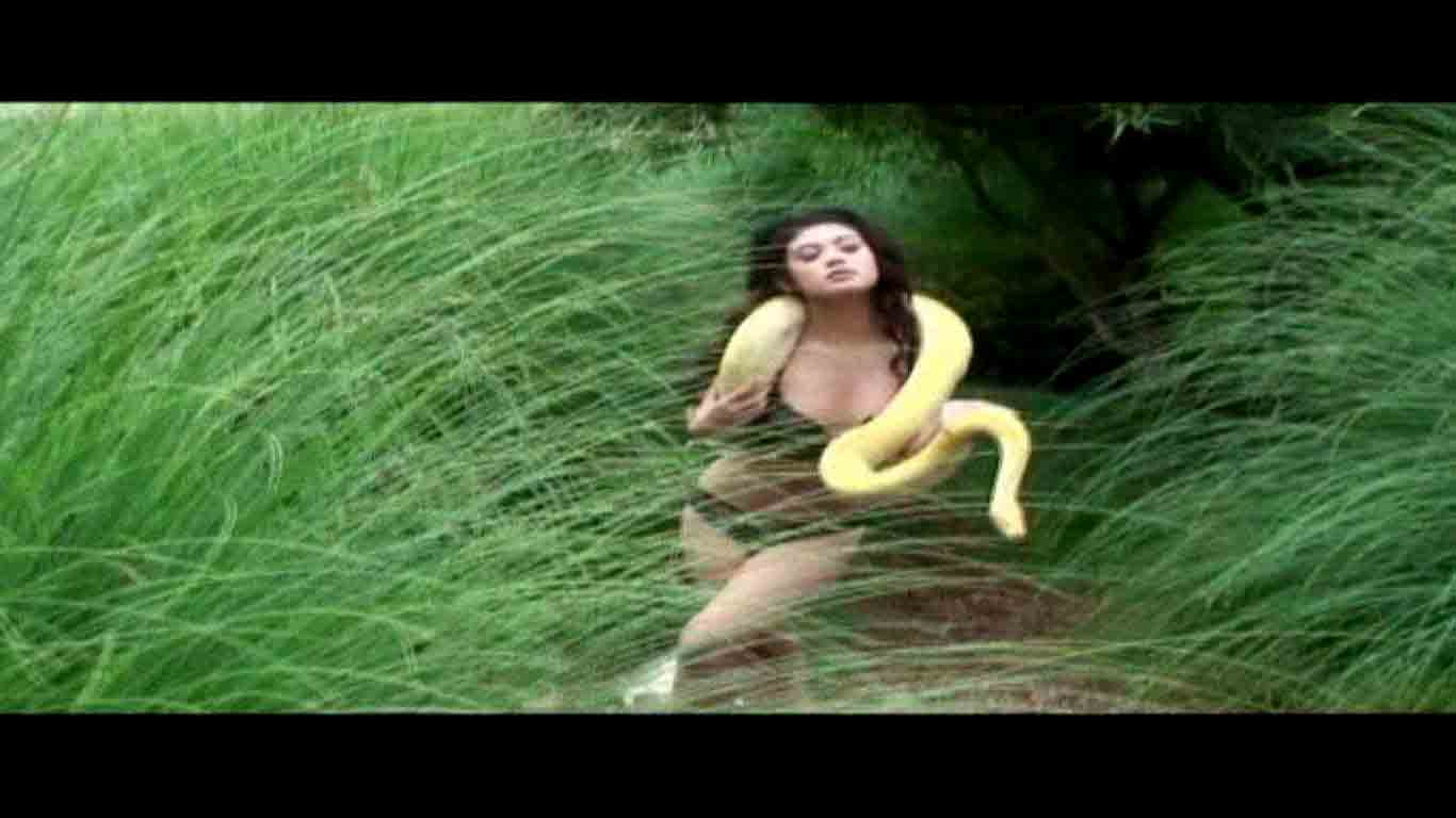 Nhi Kim Do BTS Footage Snake Scene
