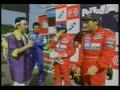 Ayrton Senna Japanese TV Show 1993