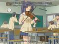 Kotomi plays her violin
