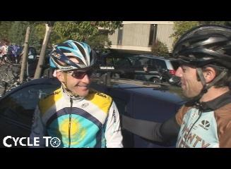 Mark Polizzi, CycleTo freebie winner