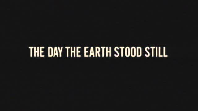 The Day The Earth Stood Still Official Trailer
