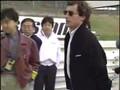 Ayrton Senna and the White Honda NSX in Suzuka