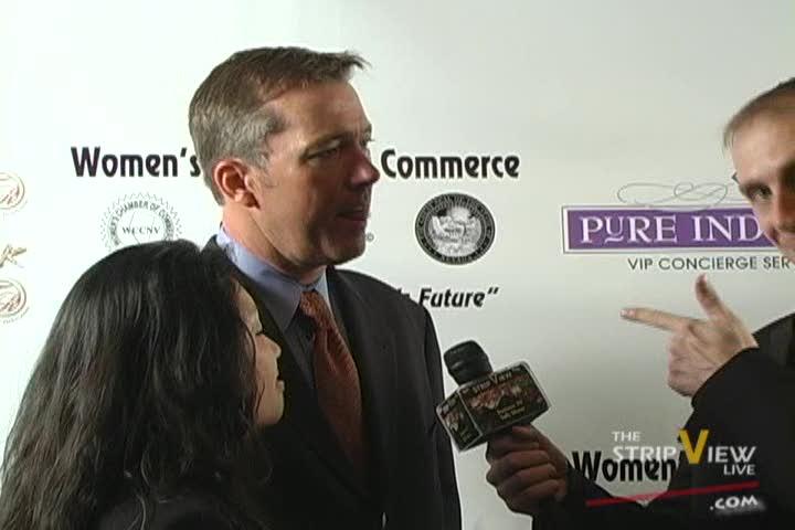 John Huck - WCCNV Athena Awards - Red Carpet Show