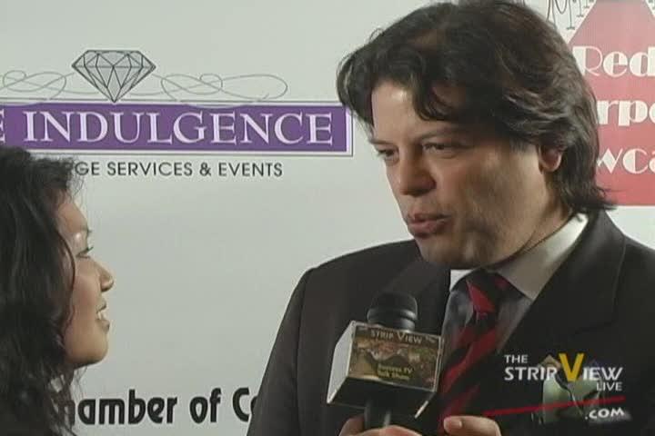 George Bugatti - WCCNV Athena Awards - Red Carpet Event