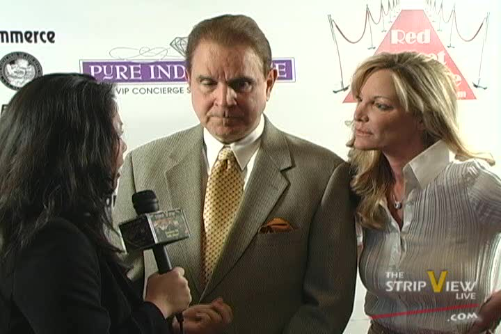 Marie & Rich Little - WCCNV Athena Awards - Vegas Red Carpet
