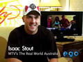 Isaac Stout from the Real World Australia Ego TV Shout Out