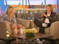Madonna. Ellen Show Pt 1.  IPOD Video