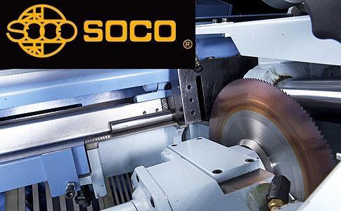 Taiwan SOCO - extreme speed metal saw cutting and tube deburring machine - www.soco.com.tw