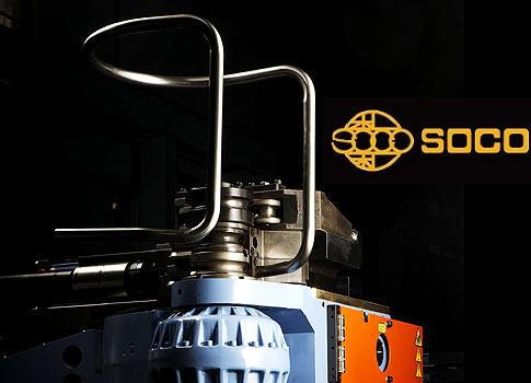Taiwan SOCO -  4 axis tube bender and 1D tube bending in 1 tube pipe bender - www.soco.com.tw
