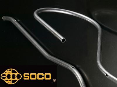 Taiwan SOCO -  4 axis Tube Bending and Punching in 1 tubing pipe bender - www.soco.com.tw