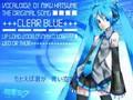 Clear Blue - Miku Hatsune