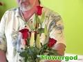 Half Dozen Rose Vase EP#75
