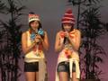 Ayaya and Mikitty Hawaiian Musume