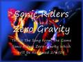 Sonic Riders Zero Gravity Theme