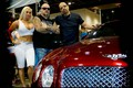 Ice T / Coco at DUB with HARD Bentley in Murder Red