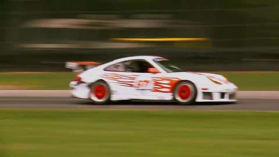 Super Unlimited Class Porsches at 08' NASA Nationals