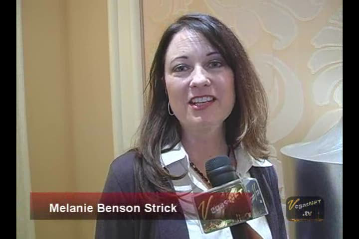 Melanie Benson Strick shares profound advice on VegasNET.tv