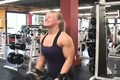 FEMALE BODY BUILDER video wendy lindquist DIYMUSCLE.COM