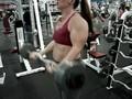 FEMALE BODYBUILDER diymuscle.com videos routine