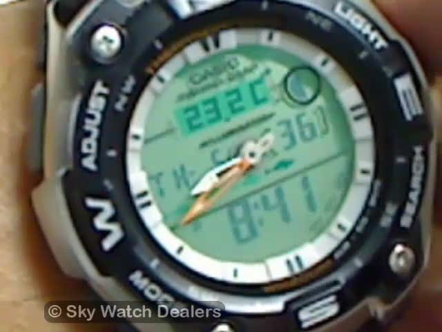 Casio fishing gear watch AQW-101D review