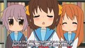 Melancholy of Haruhi-chan Episode 12 English subbed