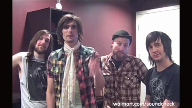 All-American Rejects Live on Soundcheck
