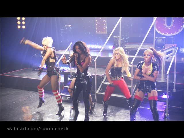 Pussycat Dolls on Soundcheck