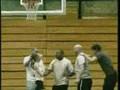 Gymnastics meets Basketball