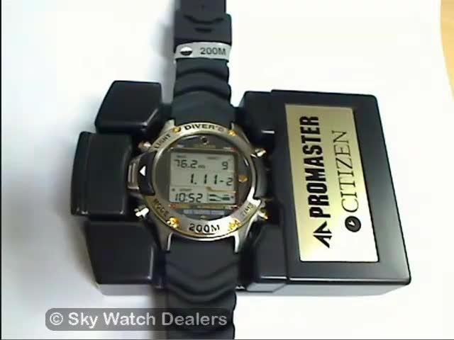 MA9004 21E Citizen Promaster Diver's watch reviews