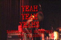 Yeah Yeah Yeahs - Poor Song