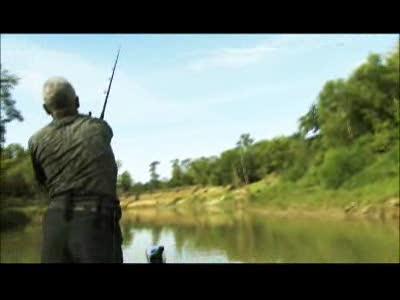 River Monsters - Bite from an Alligator Gar