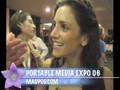 Portable Media Expo, Dawn and Drew, Leo Laporte, Soccer Girl,