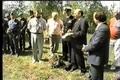 Greg Hatton dedicates monument at Stalag Luft 6