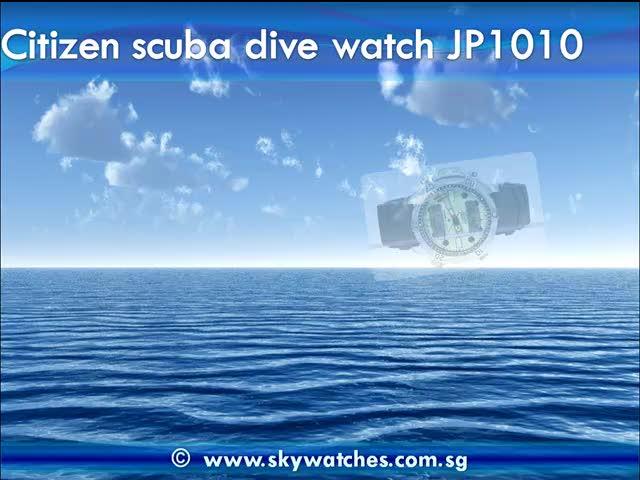 Citizen scuba dive watch reviews