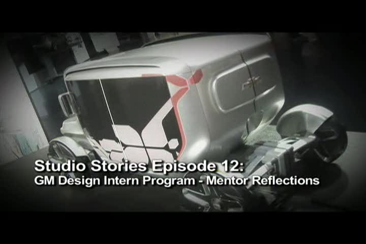 GMnext Studio Stories Episode 12: GM Design Intern Programs: Mentor Reflections