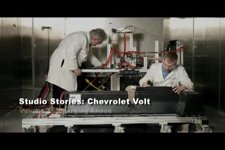 Chevrolet Volt Studio Stories: Volume 1: Charging Ahead
