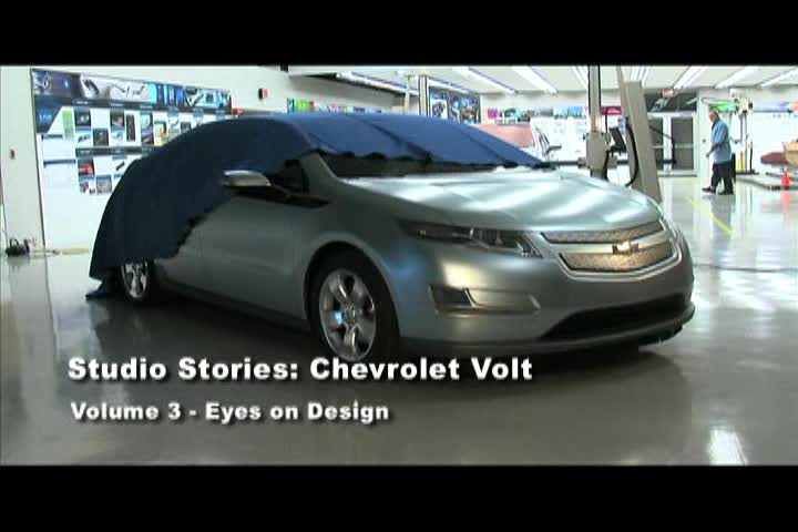 Chevrolet Volt Studio Stories: Volume 3: Eyes on Design