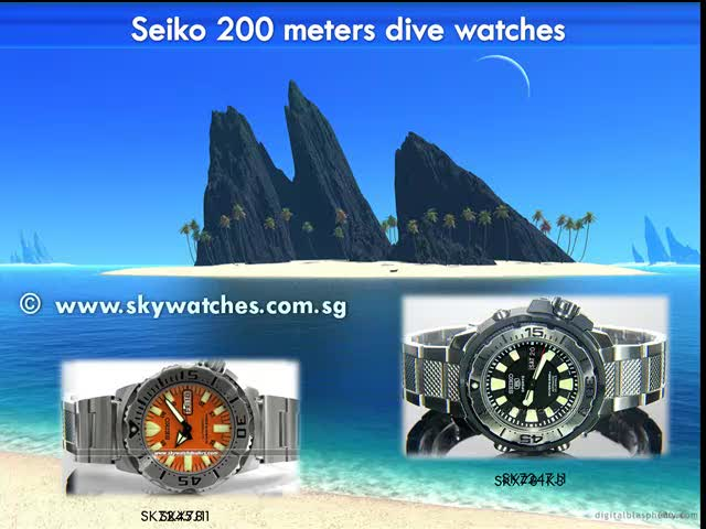 Seiko scuba diving watch reviews