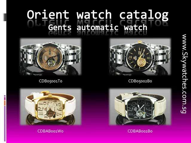 Orient watch reviews